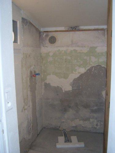 Cr ation d 39 une douche italienne avec support carreler syst me de chau - Carreler une douche italienne ...